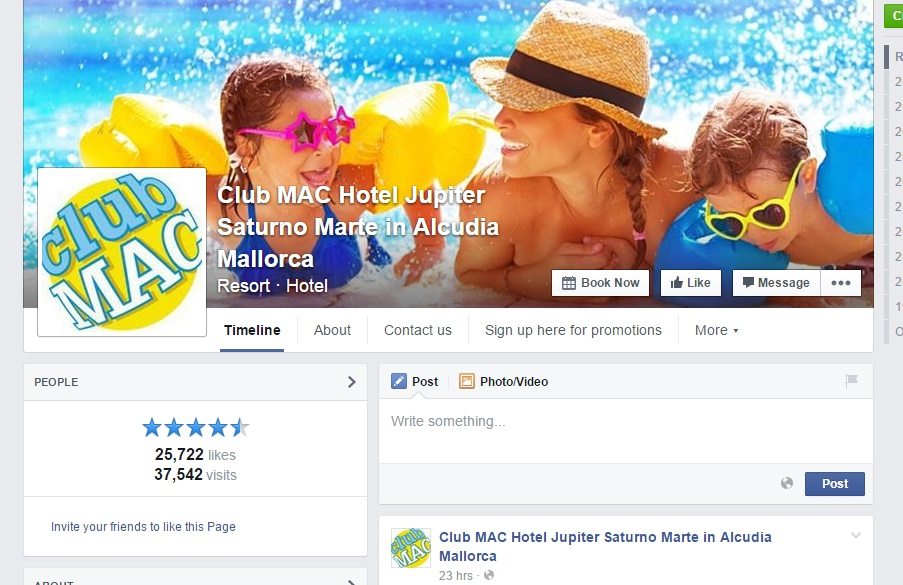 Club MAC Alcudia Facebook